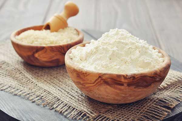 Маска от морщин на основе риса