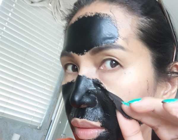 Снятие маски из активированного угля