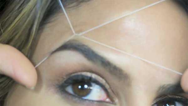 Удаление волос нитью фото 9