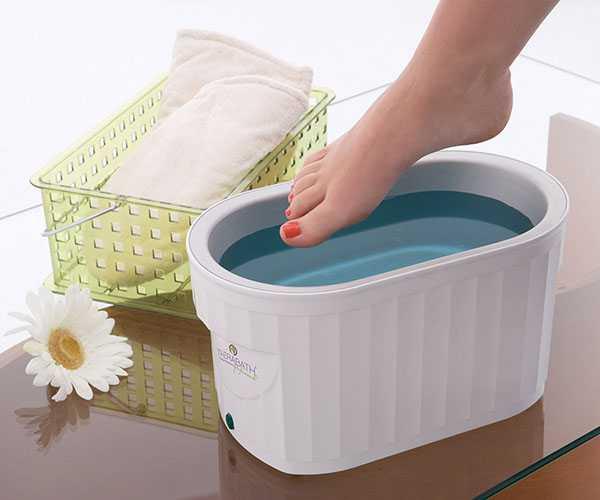 Парафиновая ванна для локтей и ног